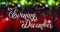 An evening in december-2015 design